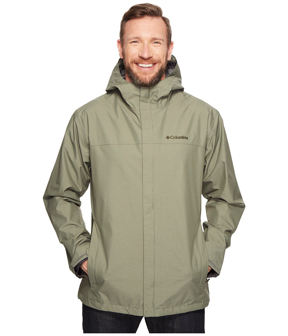 Columbia Big Tall Diablo Creek Rain Jacket (Cypress) Men