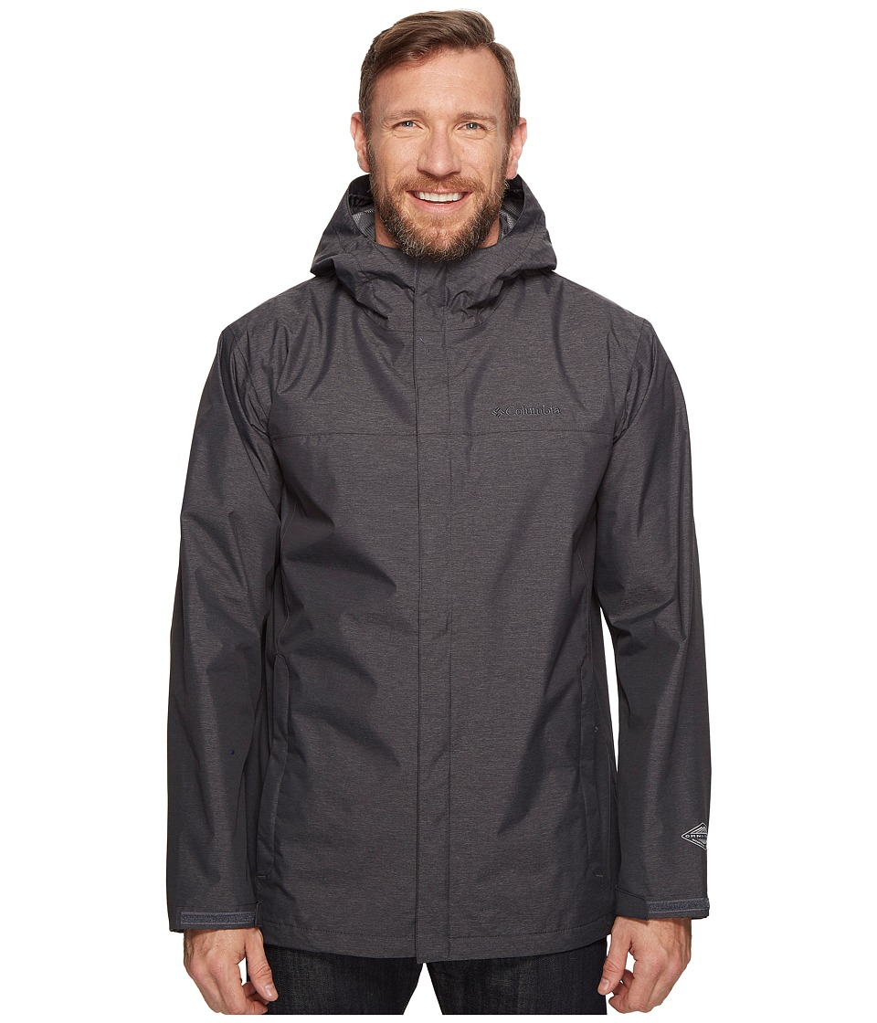 Columbia Big Tall Diablo Creek Rain Jacket (Shark) Men