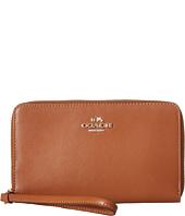 COACH - Box Program Tender Leather Zip Case