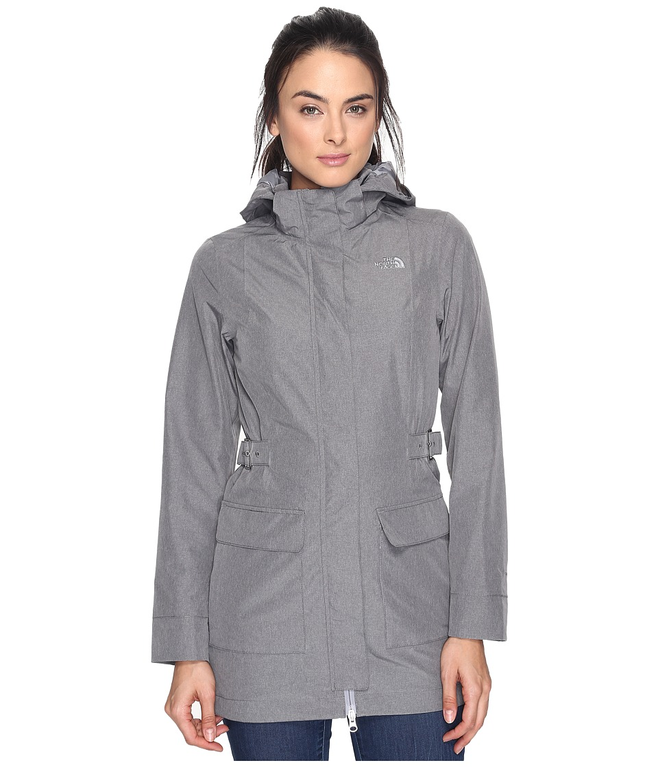 North Face Tomales Bay Jacket (TNF Medium Grey Tweed (Pri...