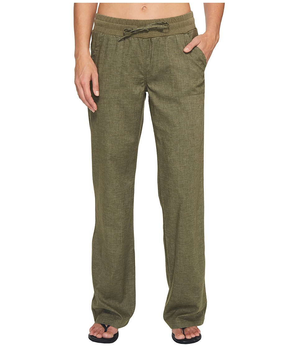 Prana Mantra Pant (Cargo Green) Women