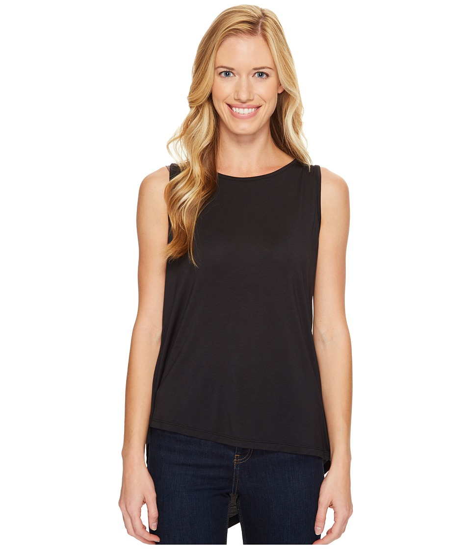 Prana - Twisted Tank Top (Black) Womens Sleeveless