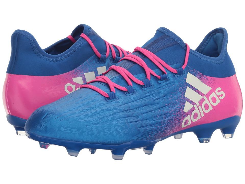 adidas X 16.2 FG (Blue/Footwear White/Shock Pink) Men