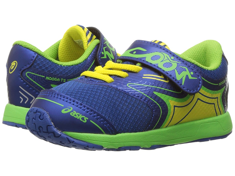 ASICS Kids Noosa TS (Toddler) (Imperial/Green Gecko/Safety Yellow) Boys Shoes