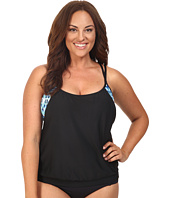 Next by Athena - Native Mantra Double Up 2 Tankini Top (D-Cup)