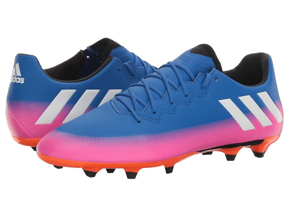 adidas Messi 16.3 FG (Blue/Footwear White/Solar Orange) Men