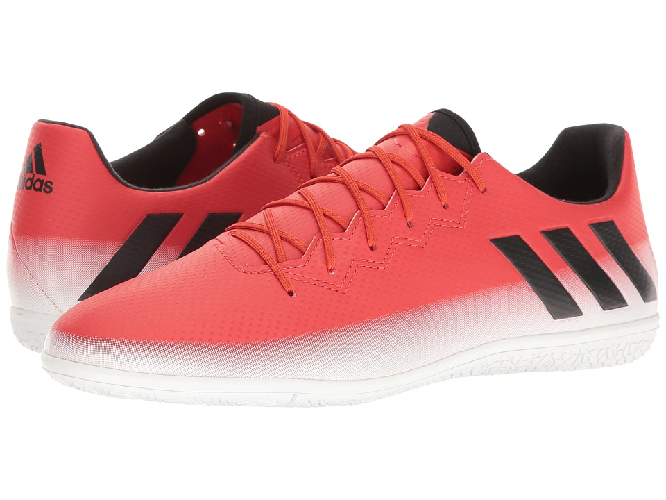 adidas - Messi 16.3 IN (Red/Core Black/Footwear White) Mens Soccer Shoes