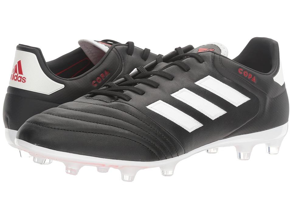 adidas - Copa 17.2 FG (Core Black/Footwear White) Mens Soccer Shoes