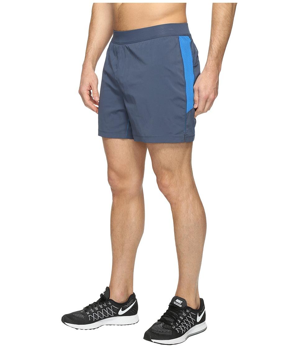 Columbia Titan Ultra Shorts (Zinc/Super Blue) Men