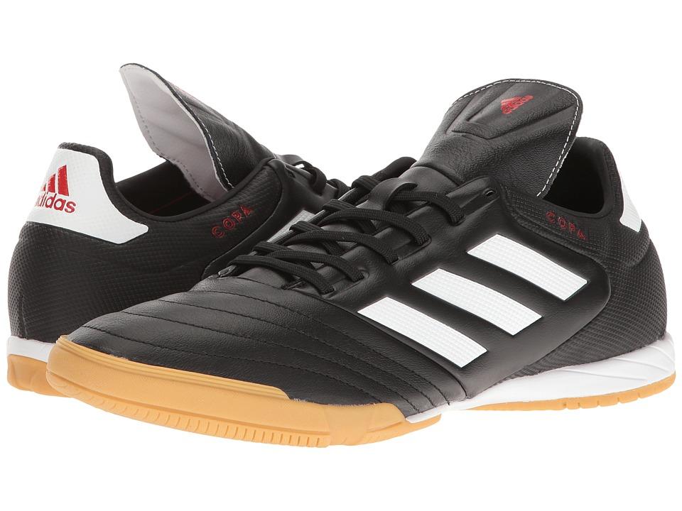 adidas - Copa 17.3 IN (Core Black/Footwear White) Men's Soccer Shoes