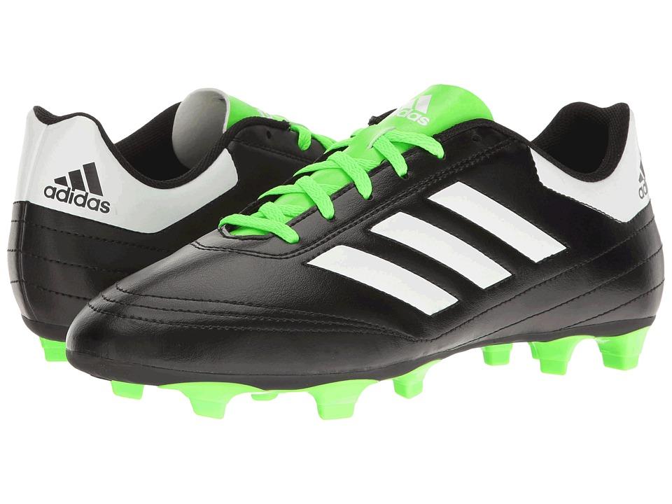 adidas Goletto VI FG (Core Black/Footwear White/Solar Green) Men