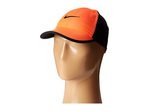 Nike Featherlight Cap - Hyper Orange/Black/Black/Black