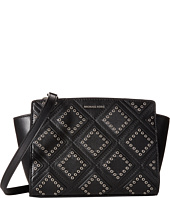 MICHAEL Michael Kors - Diamond Grommet Selma Md Messenger