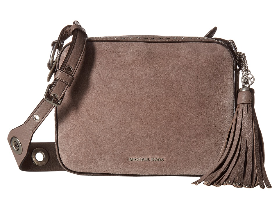 MICHAEL Michael Kors - Brooklyn Lg Camera Bag (Cinder) Handbags