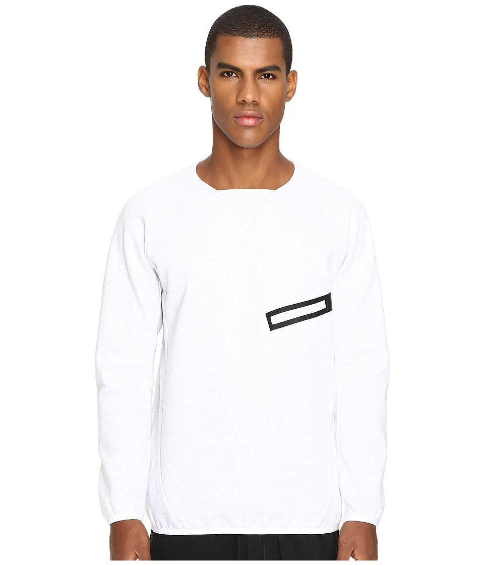 Image of adidas Y-3 by Yohji Yamamoto - Future SP Crew (Snow Melange) Men's Sweatshirt