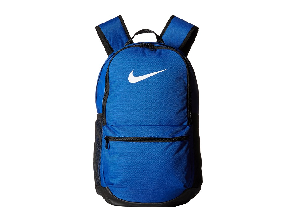 Nike Brasilia Medium Backpack (Game Royal/Black/White) Backpack Bags