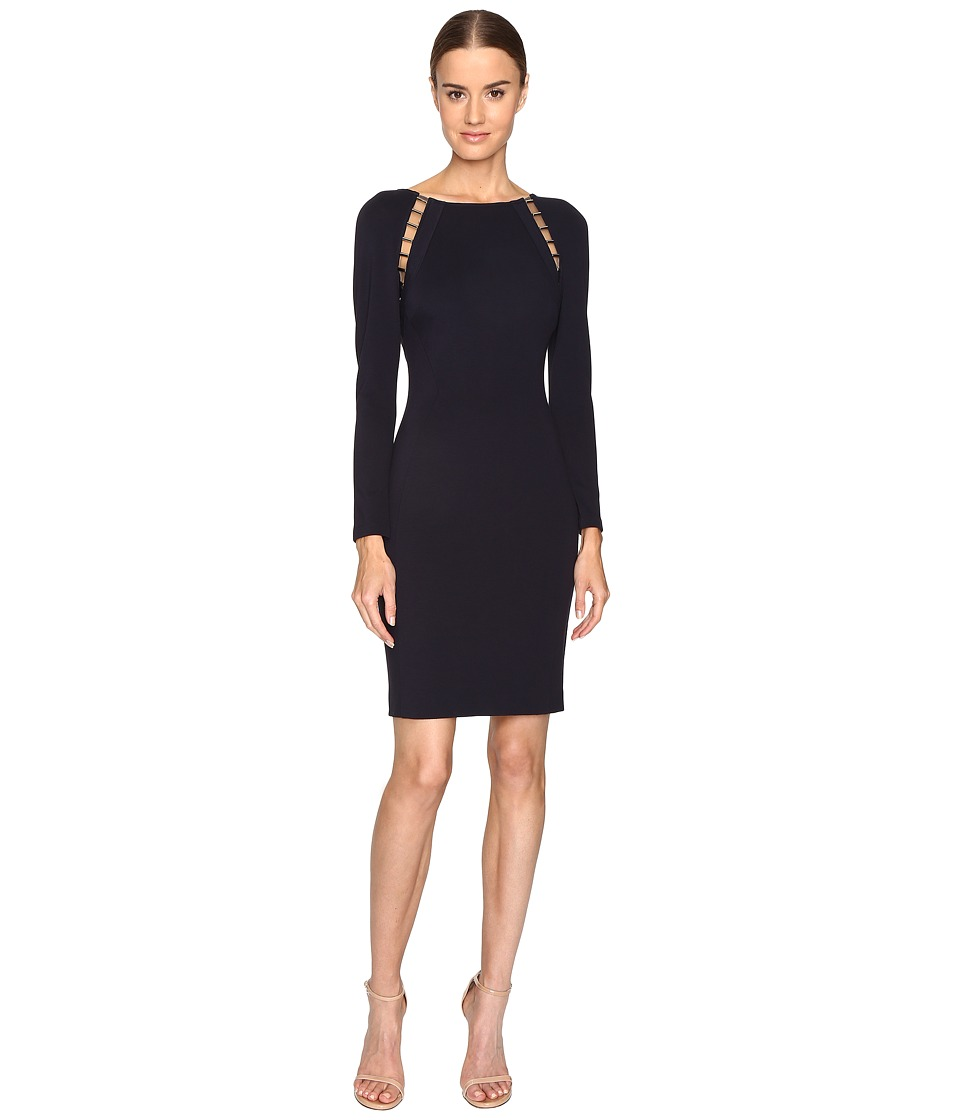 Versace Collection Jersey Dress (Midnight Blue) Women