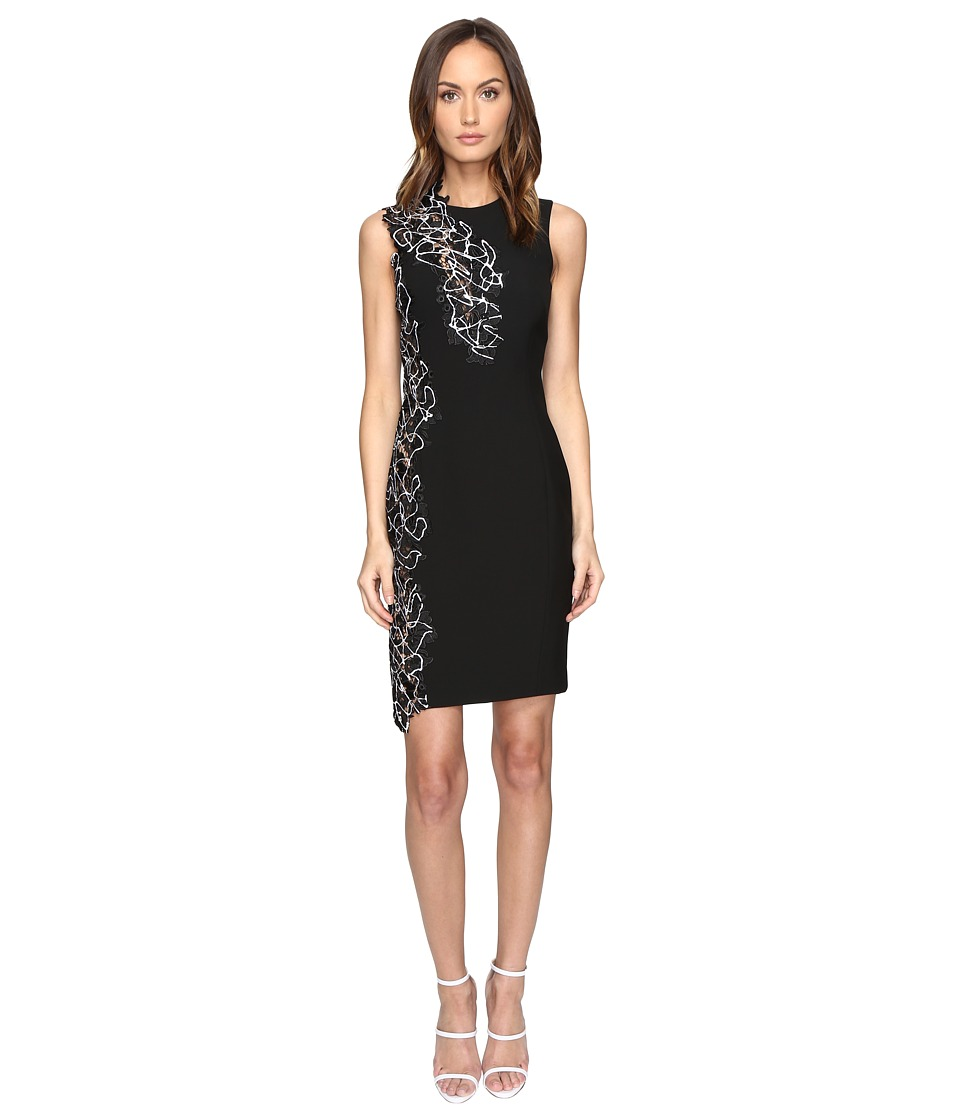 Versace Collection Woven Dress (Nero) Women