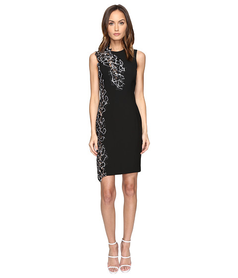 Versace Collection Woven Dress - Nero