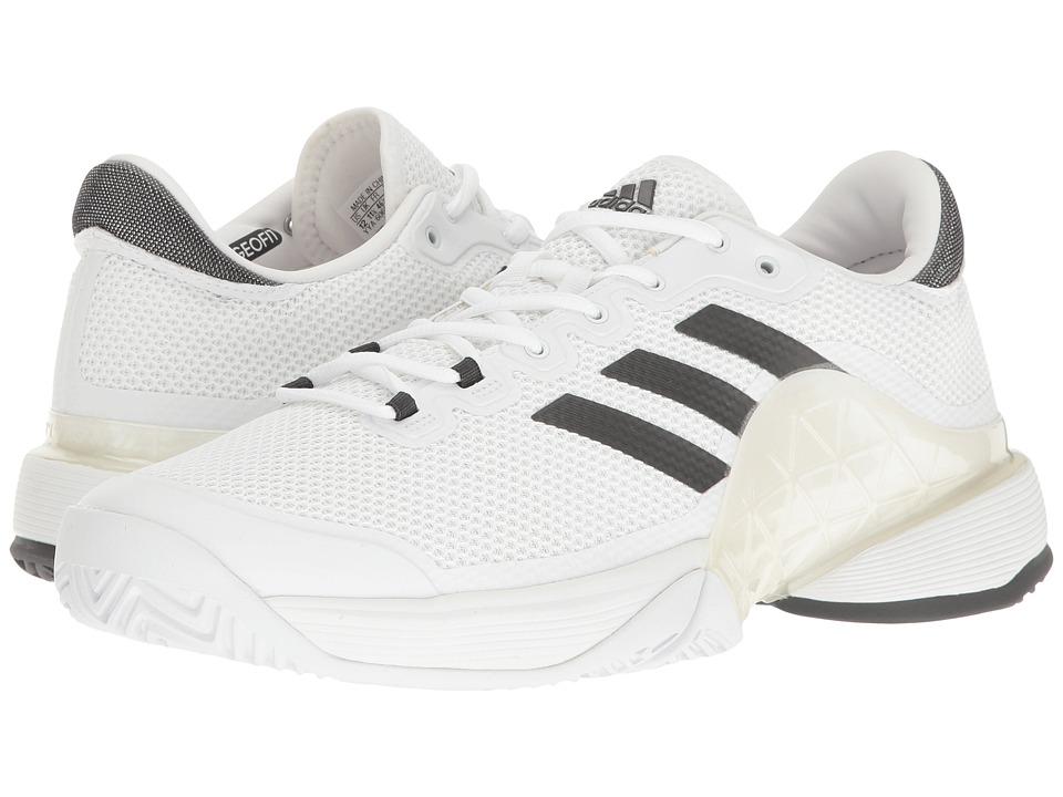 adidas Barricade 2017 (Footwear White/DGH Solid Grey) Men