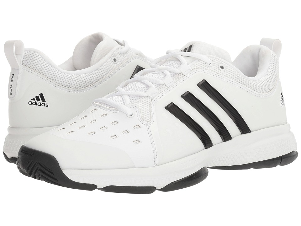 adidas Barricade Classic Bounce (Footwear White/Core Black) Men