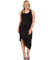 Culture Phit - Plus Size Ginny Sleeveless Dress with Gathered Bottom