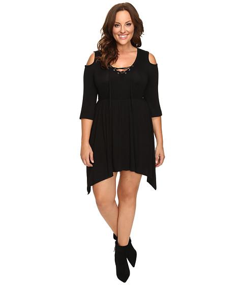 Culture Phit Plus Size Jeanie Cold Shoulder Dress