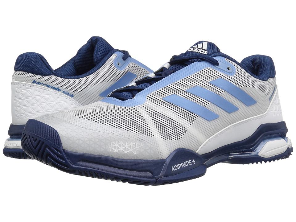 adidas Barricade Club (Footwear White/Tech Blue Metallic/Mystery Blue) Men