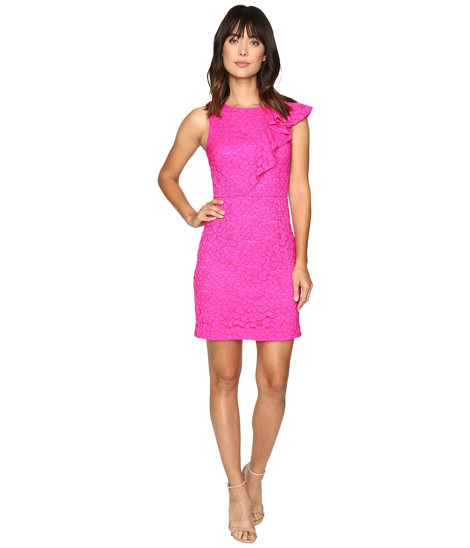 Trina Turk Kirei Dress (Brilliant Fuchsia) Women
