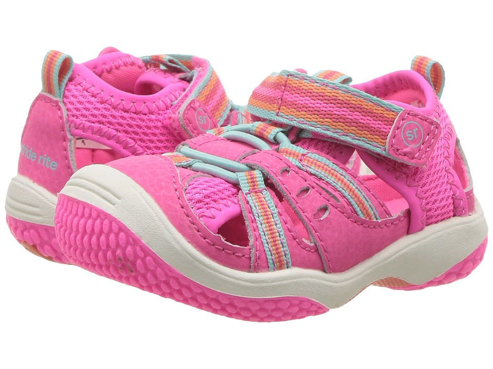 Stride Rite Baby Petra (Infant/Toddler) (Pink Multi) Girl...