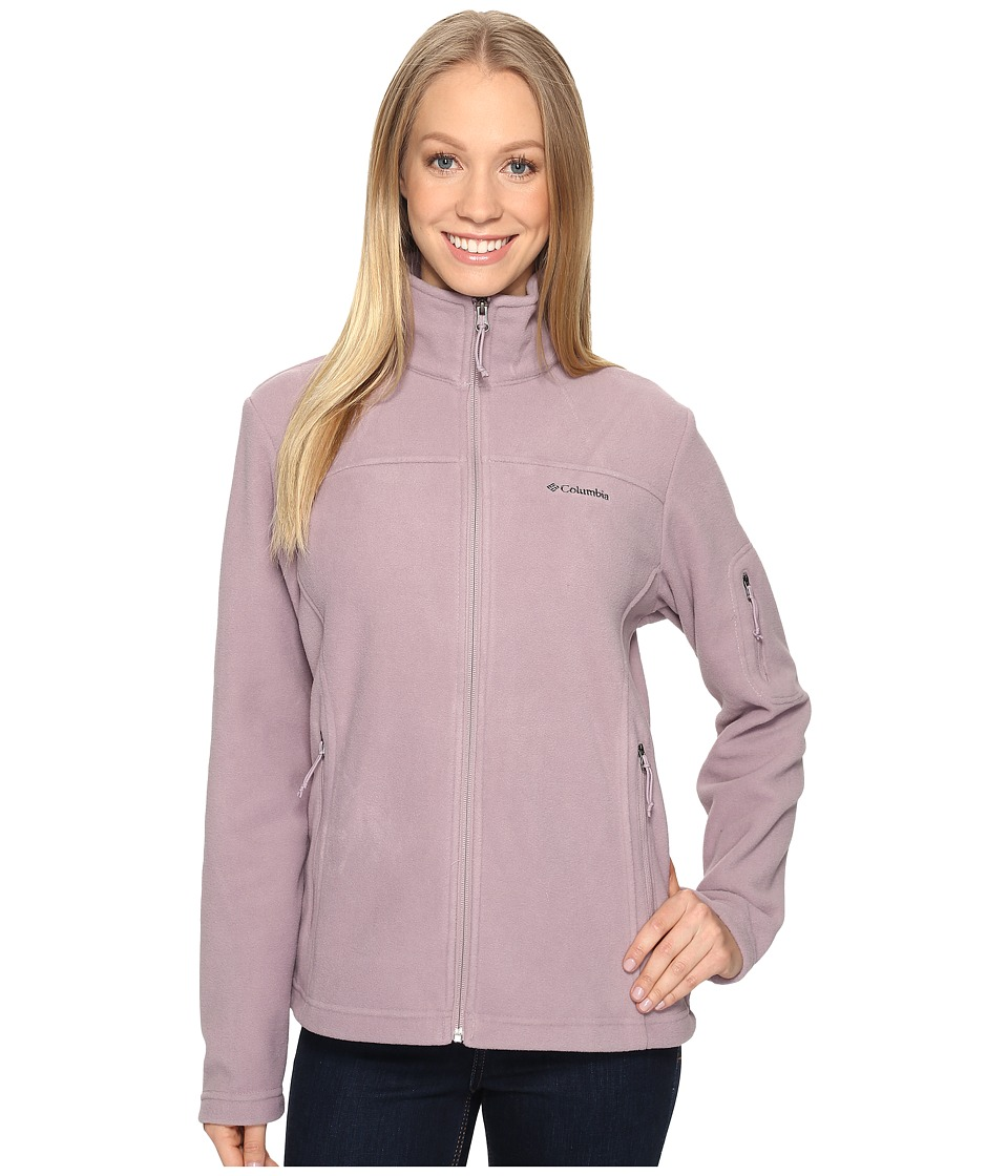 Columbia Fast Trek II Full-Zip Fleece Jacket (Sparrow) Women