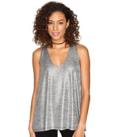 Jack by BB Dakota - Denzel Foiled Jersey Sleeveless Top
