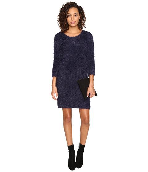 Jack by BB Dakota Laurentia Eyelash Sweater Dress - Navy