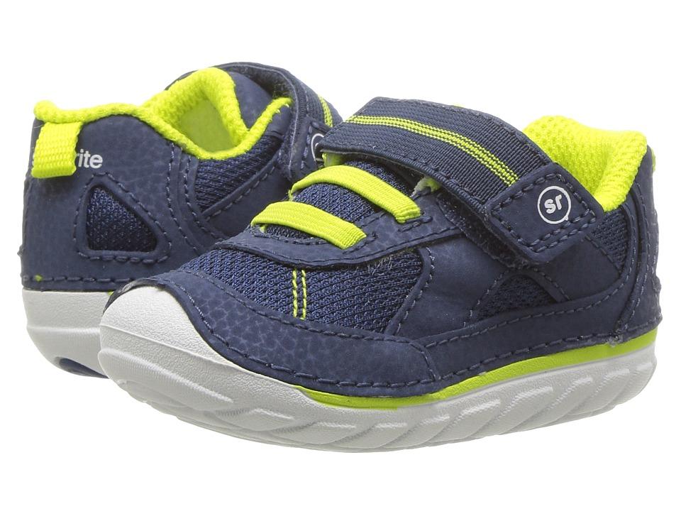 Stride Rite SM Jamie (Infant/Toddler) (Navy) Boy's Shoes
