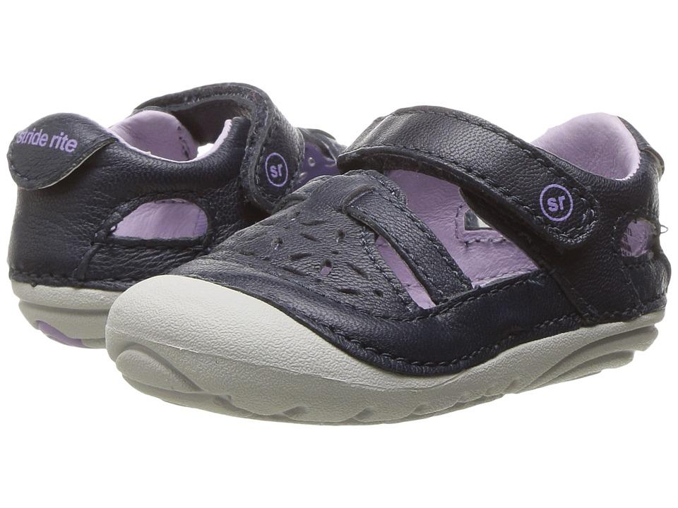 Stride Rite SM Viviana (Infant/Toddler) (Navy) Girl's Shoes