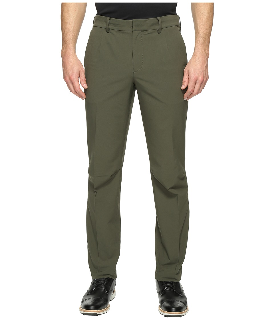 Nike Golf TW Adaptive Fit Woven Pants (Cargo Khaki/Black) Men