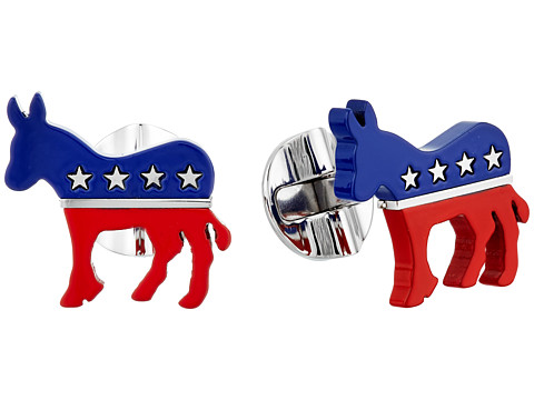 Cufflinks Inc. Stainless Steel Democratic Donkey Cufflinks