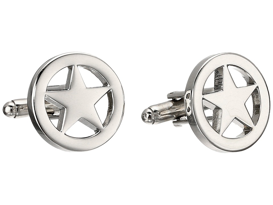 Cufflinks Inc. - Lone Star Cufflinks (Silver) Cuff Links
