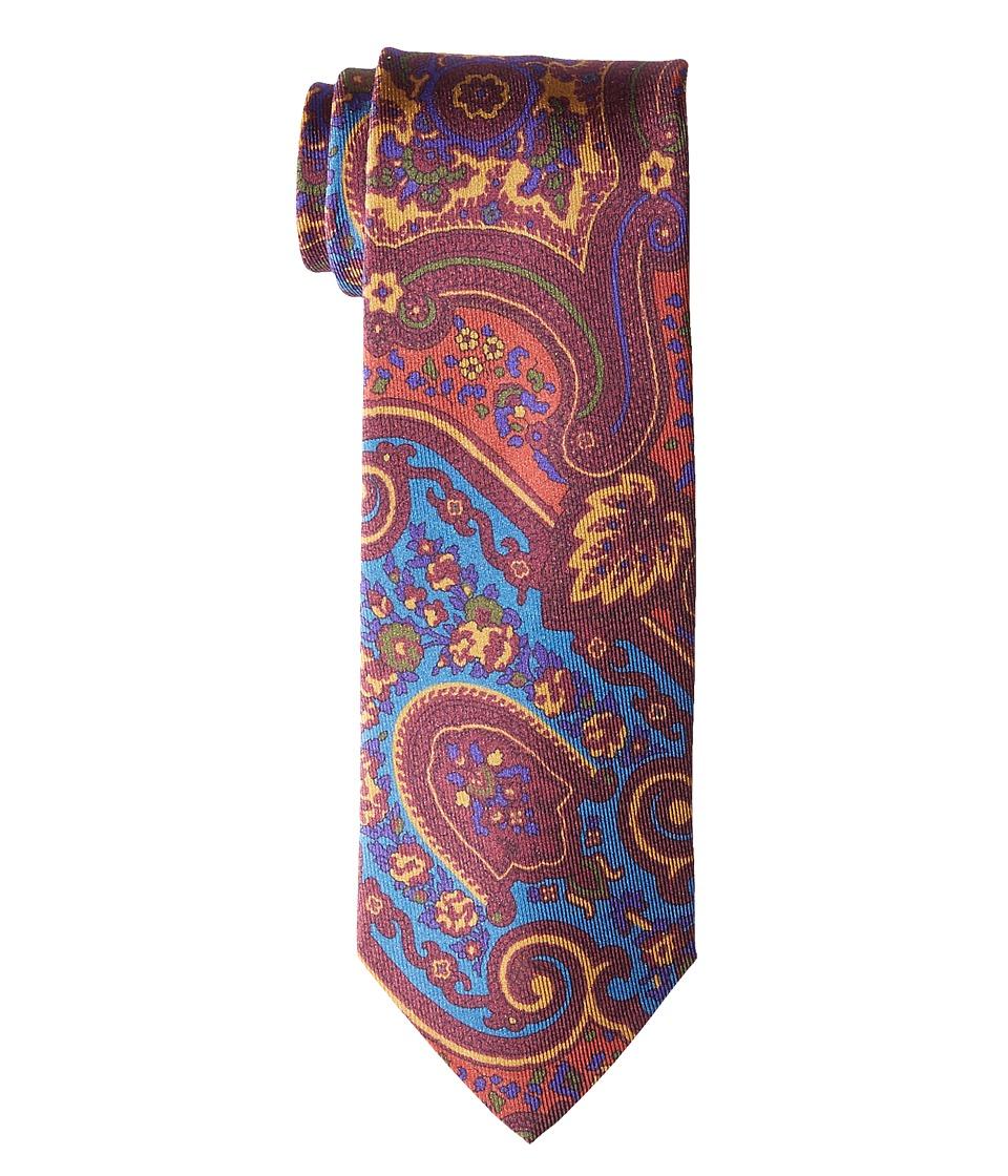 Etro - 8cm Mixed Paisley Necktie
