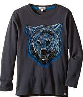 Appaman Kids - Long Sleeve Grizzly Tee (Toddler/Little Kids/Big Kids)