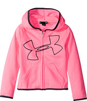 Under Armour Kids - Glitter Jumbo Big Logo Hoodie (Little Kids)