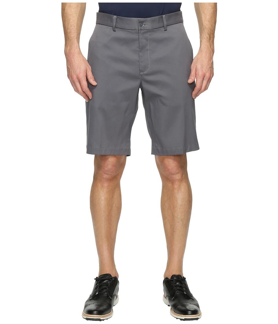 Nike Golf - Flat Front Shorts (Dark Grey/Dark Grey) Mens Shorts