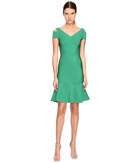 YIGAL AZROUËL Peplum Dress - Green