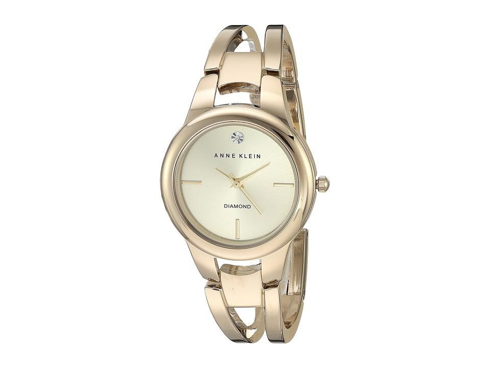 Anne Klein - AK-2628CHGB (Gold-Tone) Watches