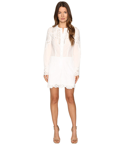 YIGAL AZROUËL Embroidered Cotton Romper - Optic