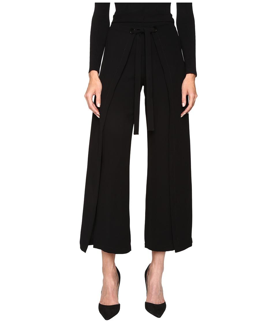 YIGAL AZROU  L - Wide Leg Wrap Pants