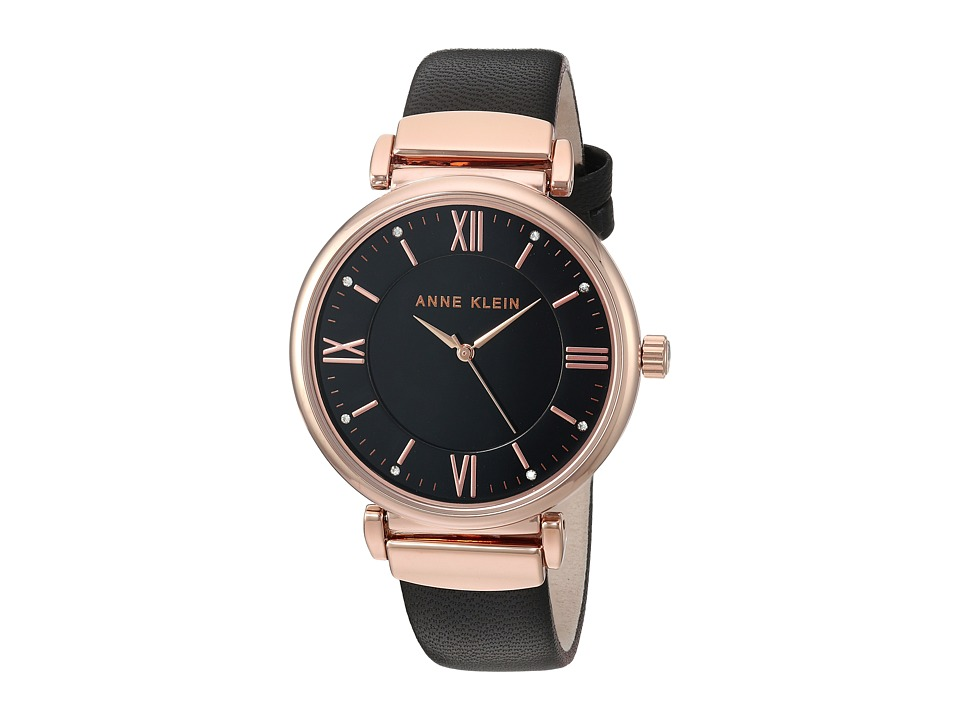 Anne Klein - AK-2666RGBK (Black) Watches