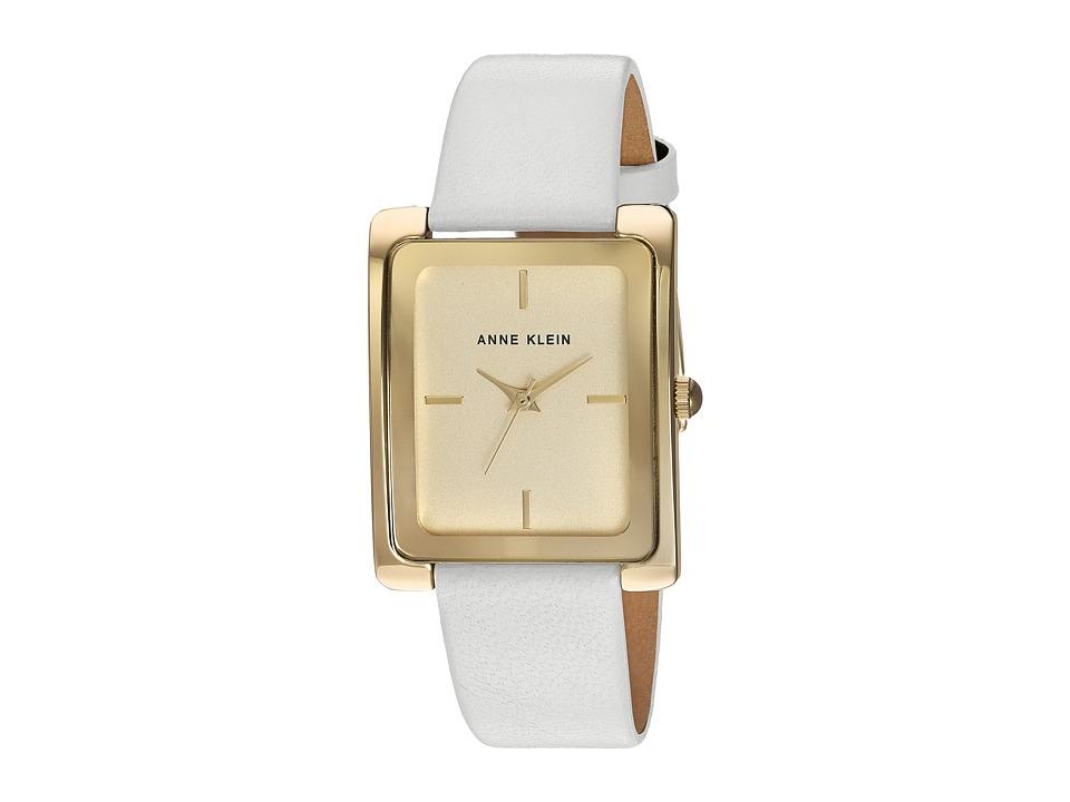 Anne Klein - AK-2706CHWT (White) Watches