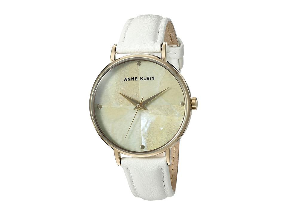 Anne Klein - AK-2790CMWT (White) Watches