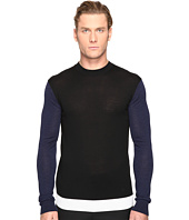 McQ - Color Block Crew Neck Sweater